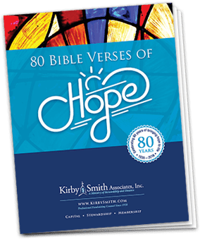 80 Bible Verses of Hope Booklet