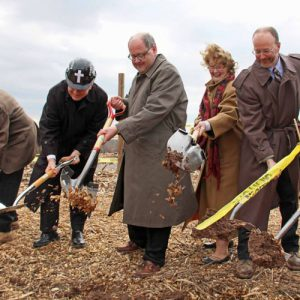 Church Building Project Groundbreaking